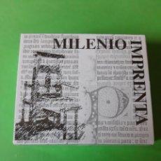 Monedas FNMT: AÑO 2000 ESPAÑA MILENIO IMPRENTA 1.500 PTAS PLATA CERTIFICADO. Lote 198392300