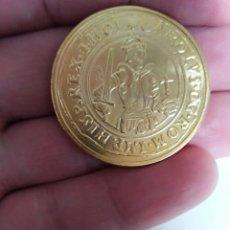 Monedas FNMT: MONEDA REAL DE ORO CARLOS I ACUÑADA POR LA REAL CASA DE LA MONEDA BAÑO DE ORO PURO . Lote 198456231