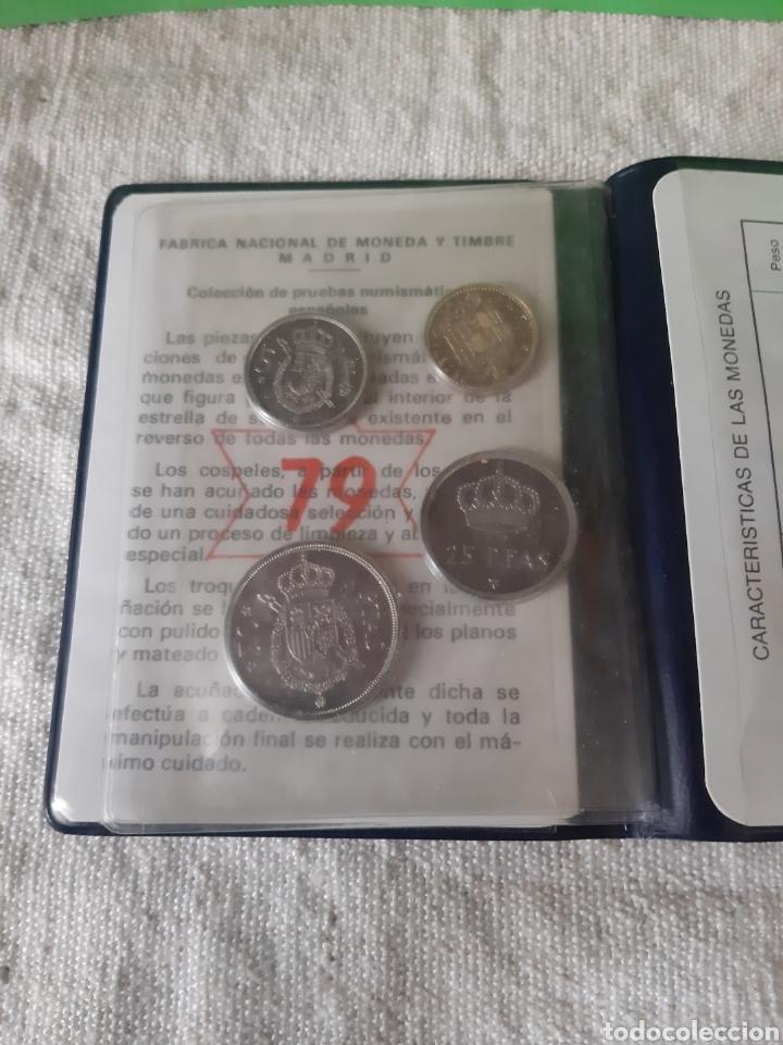 Monedas FNMT: Pruebas numismática España Fnmt Proof 1975 (*19*79 ) 4 valores original - Foto 3 - 198597261