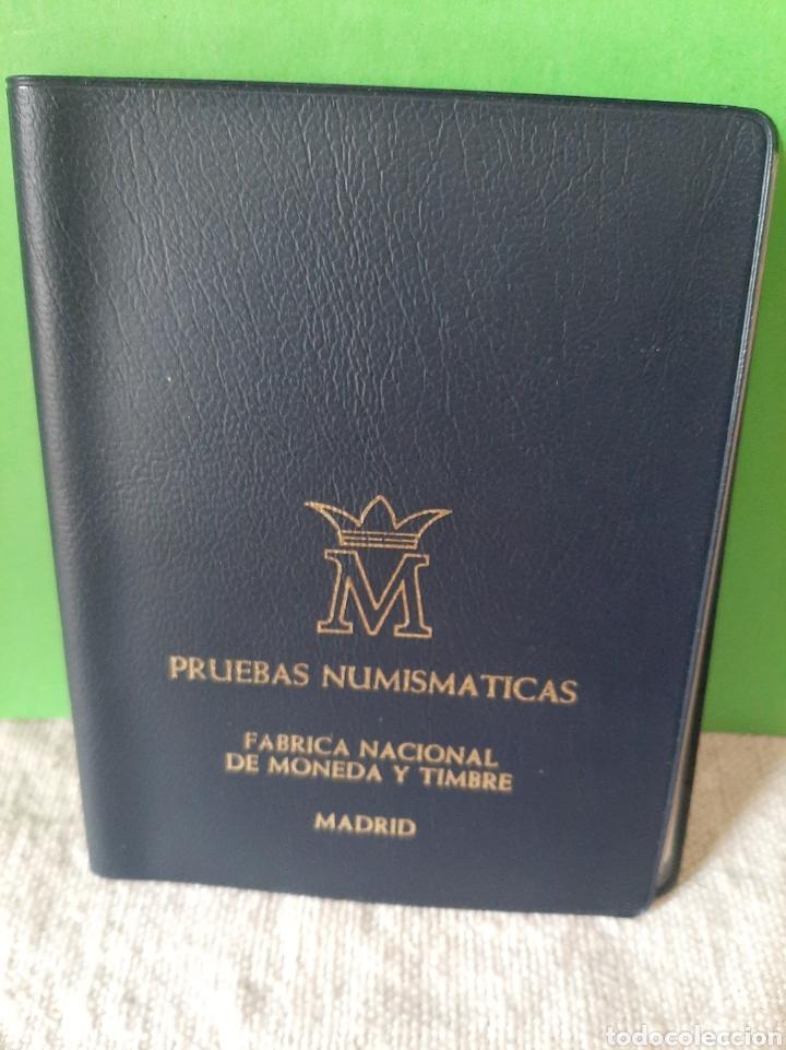 PRUEBAS NUMISMÁTICA ESPAÑA FNMT PROOF 1975 (*19*79 ) 4 VALORES ORIGINAL (Numismática - España Modernas y Contemporáneas - FNMT)