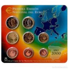 Monedas FNMT: - ESPAÑA CARTERA OFICIAL -BLISTER- F.N.M.T. AÑO 2000 *PRIMERA EMISION NACIONAL DEL EURO*. Lote 200060060