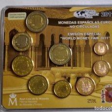 Monedas FNMT: ## CARTERA ESPAÑA 2011 WORLD MONEY FAIR ##. Lote 202273381