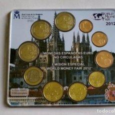 Monedas FNMT: ## CARTERA ESPAÑA 2012 WORLD MONEY FAIR ##. Lote 202273518