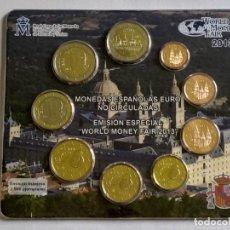 Monedas FNMT: ## CARTERA ESPAÑA 2013 WORLD MONEY FAIR ##. Lote 202273731