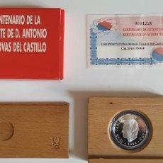 Monedas FNMT: MONEDA DE PLATA. CENTENARIO MUERTE CANOVAS DEL CASTILLO. Lote 203221725