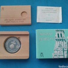 Monedas FNMT: MONEDA 2000 PESETAS EN PLATA. AÑO SANTO JACOBEO 1993.. Lote 204991977