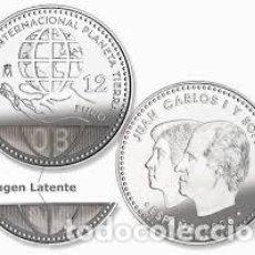 Monedas FNMT: ESPAÑA 12 EUROS AÑO 2008 * AÑO INTERNACIONAL DEL PLANETA TIERRA*-PLATA 925-FUNDA. Lote 214021521