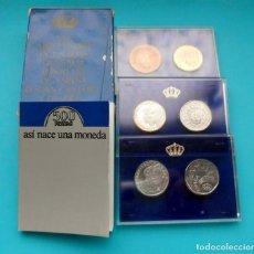 Monedas FNMT: BODAS DE PLATA DE LOS REYES JUAN CARLOS Y SOFIA 1962 - 1987, 500 PESETAS PRUEBAS FNMT. Lote 205713542