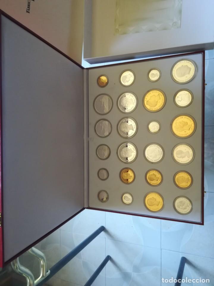 Monedas FNMT: LA HISTORIA DE LA PESETA. FNMT 24 PIEZAS PLATA DE LEY Y PLATA CON BAÑO DE ORO - Foto 7 - 205605583