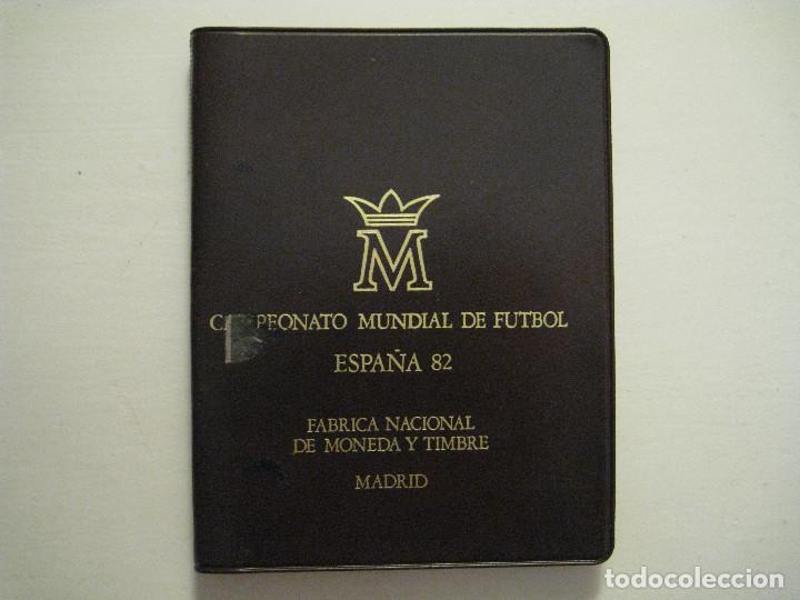 MONEDAS CAMPEONATO MUNDIAL DE FÚTBOL ESPAÑA 82 - FÁBRICA NACIONAL MONEDA Y TIMBRE (Numismática - España Modernas y Contemporáneas - FNMT)