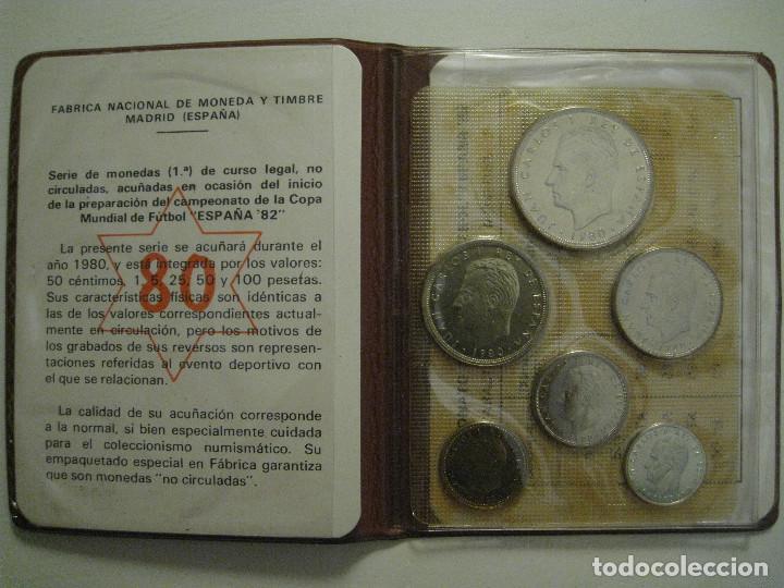 Monedas FNMT: MONEDAS CAMPEONATO MUNDIAL DE FÚTBOL ESPAÑA 82 - FÁBRICA NACIONAL MONEDA Y TIMBRE - Foto 2 - 206297530