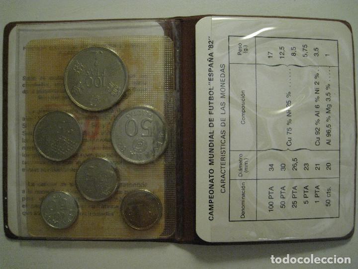 Monedas FNMT: MONEDAS CAMPEONATO MUNDIAL DE FÚTBOL ESPAÑA 82 - FÁBRICA NACIONAL MONEDA Y TIMBRE - Foto 3 - 206297530