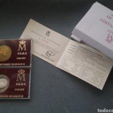 Monedas FNMT: MONEDAS DEL BICENTENARIO DE CARLOS III 1788- 1988.. Lote 206439523