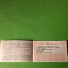 Monedas FNMT: 1989 PROOF CERTIFICADO VALOR 2.000 PESETAS 1000 500 200 100 FNMT ESPAÑA I SERIE V CENTENARIO. Lote 207294331