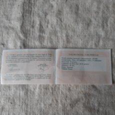 Monedas FNMT: 1989 CERTIFICADO FNMT V CENTENARIO SERIE I 5000 PESETAS PROOF. Lote 207295062