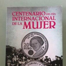 Monnaies FNMT: MONEDA 20€ DE 2011. CLARA CAMPOAMOR. DÍA INTERNACIONAL DE LA MUJER. PLATA DE LEY. CARTERITA OFICIAL.. Lote 207640010