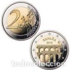 Monedas FNMT: 2 EUROS ESPAÑA CONMEMORATIVA 2016 *ACUEDUCTO DE SEGOVIA* ENCAPSULADA. Lote 224249733