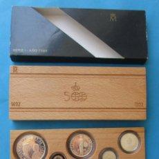 Monedas FNMT: SERIE DE 5 MONEDAS DE PLATA. QUINTO CENTENARIO. SERIE I. 1989.. Lote 210658125