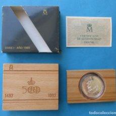 Monedas FNMT: FNMT. ESPAÑA. MONEDA DE 5000 PESETAS. PLATA. SERIE I. 1989.. Lote 210666070