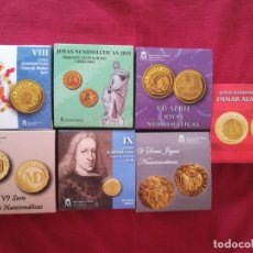 Monedas FNMT: SET MONEDAS FNMT JOYAS NUMISMATICAS 20 EURO ORO. Lote 210964226
