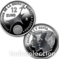 Monedas FNMT: ESPAÑA 12 EUROS 2002 *PRESIDENCIA DE LA UNION EUROPEA*.PLATA 925-BOLSA. Lote 269124808
