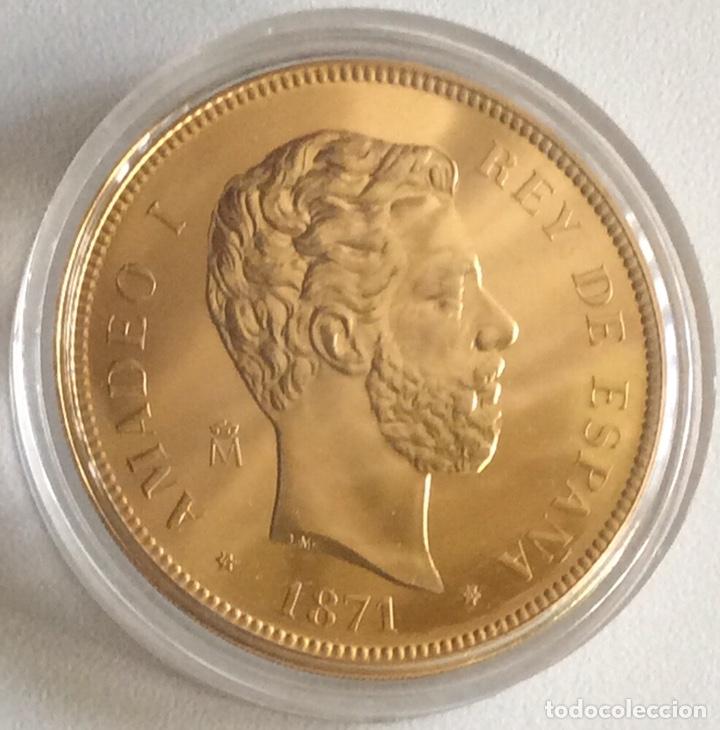 MONEDA CONMEMORATIVA FNMT - 100 PESETAS AMADEO I 1871 - PLATA 925 (44 G) - HISTORIA DE LA PESETA (Numismática - España Modernas y Contemporáneas - FNMT)