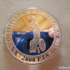 Monnaies FNMT: JUEGOS PARALIMPICOS . XXV OLIMPIADA DE BARCELONA . ESTADO PERFECTO . FDC. Lote 264843439