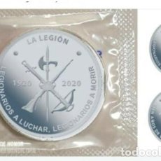 Monete FNMT: CENTENARIO DE LA LEGION ESPAÑOLA MEDALLA OFICIAL FNMT SIMILAR A 10 EUROS 2020. Lote 238322850