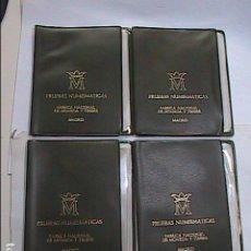 Monedas FNMT: LOTE DE 4 CARTERAS DE PRUEBAS NUMISMÁTICAS DE 1977 CON ESTRELLA 75. FNMT.. Lote 219200675