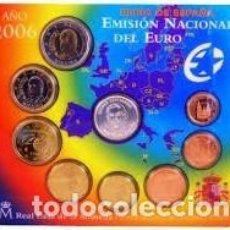 Monedas FNMT: ESPAÑA CARTERA OFICIAL -BLISTER- F.N.M.T. AÑO 2006 *CON MEDALLA PLATA COLON*TIPO 2-. Lote 221000516