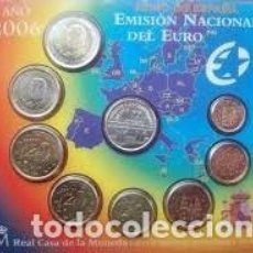 Monedas FNMT: ESPAÑA CARTERA OFICIAL -BLISTER- F.N.M.T. AÑO 2006 *CON MEDALLA PLATA XX ANIV. ENTRADA UE*TIPO 1-. Lote 221001501