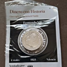 Monedas FNMT: 4 REALES 1823 COLECCION DINERO CON HISTORIA. Lote 221611486