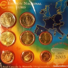 Monedas FNMT: BLISTER ESPAÑA 2003 BU. Lote 219562817