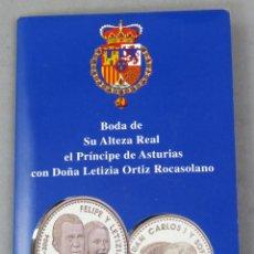 Monedas FNMT: MONEDA 12 EUROS EN PLATA CONMEMORATIVA BODA D FELIPE Y DÑA LETIZIA MAYO DE 2004. Lote 226948180