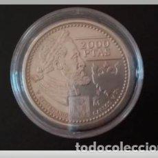Monedas FNMT: ESPAÑA 2000 PESETAS CONMEMORATIVA AÑO 2000-500 ANIV.NACIMIENTO CARLOS V-PLATA 925-ENCAPSULADA. Lote 227913740