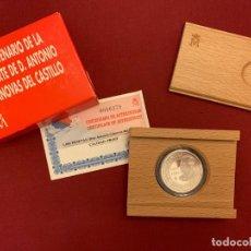 Monedas FNMT: ESTUCHE MONEDA 1000 PESETAS - PLATA - 1997 - CENTENARIO MUERTE DE D. ANTONIO CÁNOVAS DEL CASTILLO. Lote 228111625