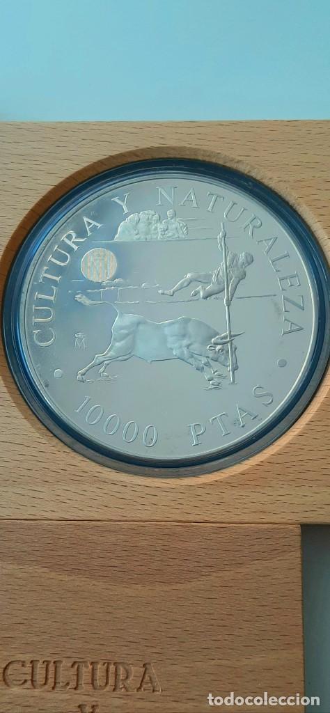 Monedas FNMT: Cultura y Naturaleza. Cincuentín (1) y 8 reales (2). 1994 - Foto 7 - 229064365