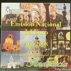 Monedas FNMT: ESPAÑA 2008 CARTERA EUROS ANDALUCIA OFICIAL FNMT. Lote 232105245