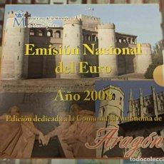 Monedas FNMT: ESPAÑA 2008 CARTERA EUROS ARAGON OFICIAL FNMT. Lote 232105315