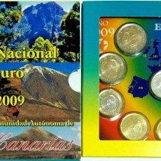 Monedas FNMT: ESPAÑA 2009 CARTERA EUROS CANARIAS OFICIAL FNMT. Lote 232105550
