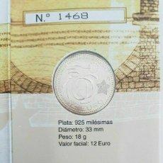 Monedas FNMT: ESPAÑA 2009. 12 + 2 EUROS. 10 ANIVERSARIO UNIÓN ECONÓMICA Y MONETARIA (CARTERA). Lote 232106585