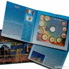 Monedas FNMT: ESPAÑA 2010 CARTERA EUROS CASTILLA LA MANCHA OFICIAL FNMT. Lote 232106680