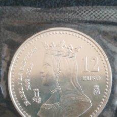 Monedas FNMT: 12 EURO ESPAÑA FNMT 2004 PLATA EN FUNDA DEL BANCO. Lote 232127405