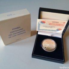 Monedas FNMT: MONEDA 10€ PLATA 2002 - PRIMER CENTENARIO DEL NACIMIENTO DE LUIS CERNUDA. Lote 232664185