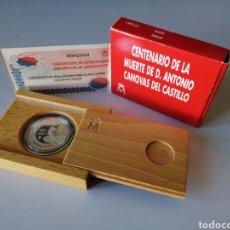 Monedas FNMT: MONEDA 1000 PTS PLATA - CENTENARIO MUERTE DE D. ANTONIO CANOVAS DEL CASTILLO AÑO 1997. Lote 232674580