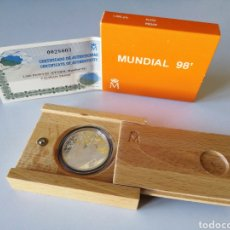 Monete FNMT: MONEDA 1000 PTS PLATA - MUNDIAL 1998. Lote 232675058