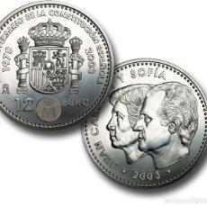Monedas FNMT: LOTE 10 MONEDAS DE 12 EUROS DE PLATA AÑO 2003 (NUEVAS PERO SIN BLISTER). Lote 234135830