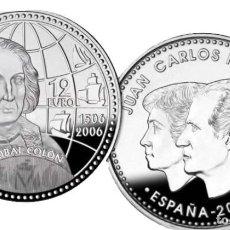 Monedas FNMT: LOTE 10 MONEDAS DE 12 EUROS DE PLATA AÑO 2006 (NUEVAS PERO SIN BLISTER). Lote 234136230