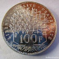 Monedas FNMT: REPUBLICA FRANCESA . 100 FRANCOS DE PLATA ANTIGUOS. AÑO 1987. Lote 234171265