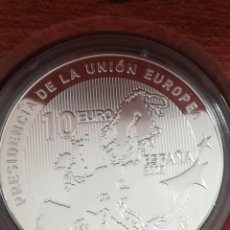 Monedas FNMT: MONEDA 10 EURO ESPAÑA 2002 PLATA FNMT. Lote 234943925